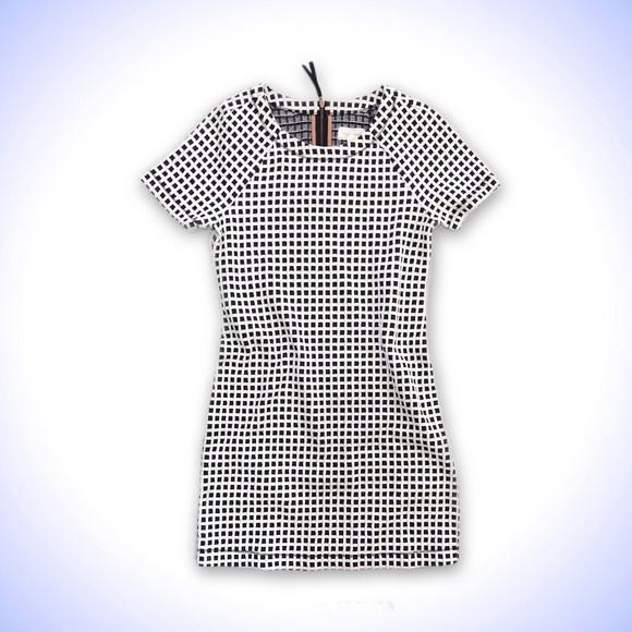 Lou   Grey Dresses   Lou Grey Windowpane Checkered Shift Tee Dress ... 8a7f5a9b4e